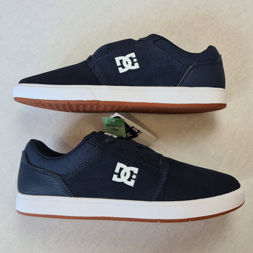 DC Shoes Crisis 2 Skateboard Shoes - Navy/White