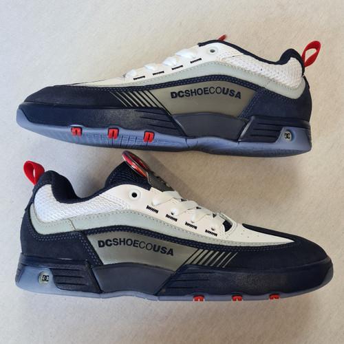 DC Shoes Legacy 98 Slim Skateboard Shoes - Navy White