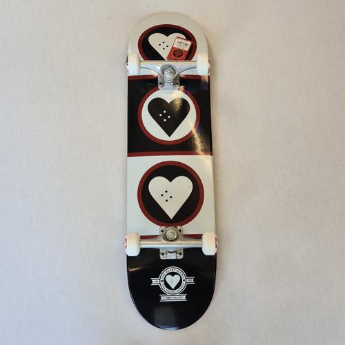 Heart Supply - Complete skateboard - Squad - 8.25 - Black/White