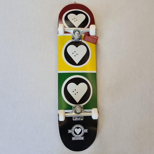 Heart Supply - Complete skateboard - Squad - 8 - Rasta