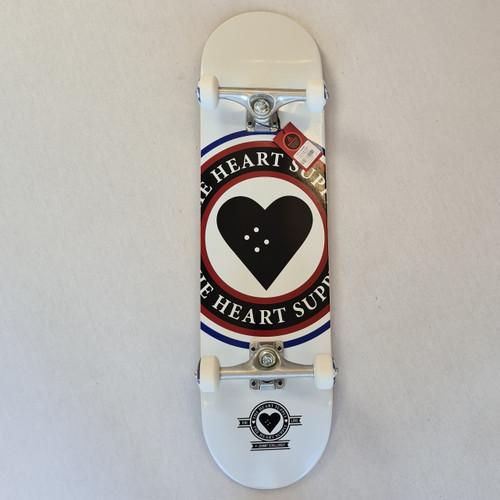 Heart Supply - Complete skateboard - Insignia - 8.25 - White