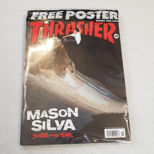 Thrasher Skateboard Magazine May 2021 - Free Poster