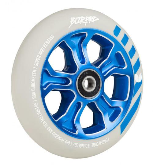 Blazer Pro Scooter Wheel Rebellion Forged 110mm - Blue/White