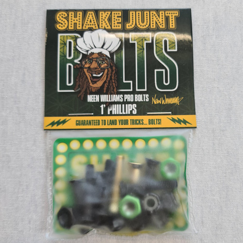 Shake Junt 1 Inch Philips Hardware Bolts - Neen William's Pro Bolts