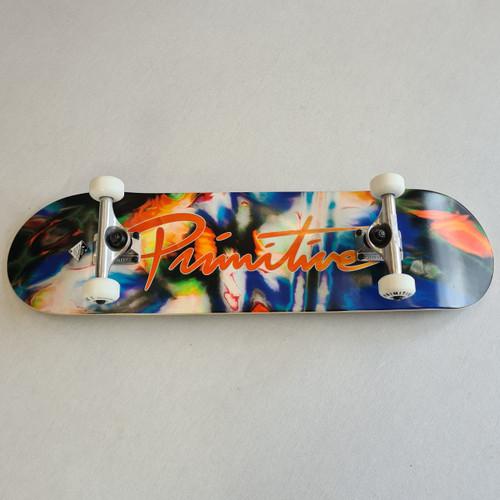 """Primitive 8.125"""" Pro Neuvo Melt Complete Skateboard Setup - Tie Dye"""