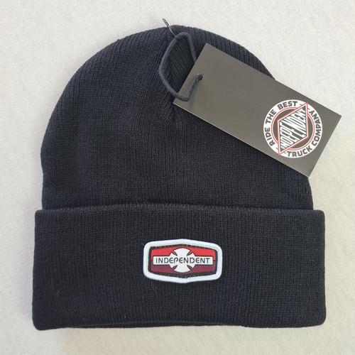Independent Skateboards Cross Logo Beanie Hat - Black