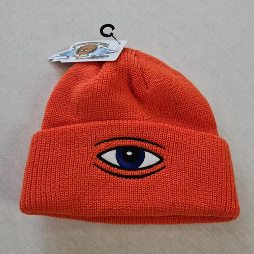 Toy Machine Sect Eye Dock Beanie - Orange