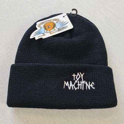 Toy Machine Tape Logo Beanie - Black