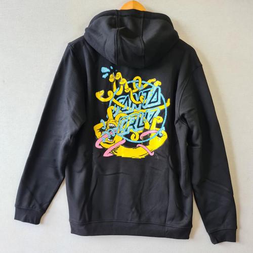 Santa Cruz x Ermsy Twisted Hand Hood - Black