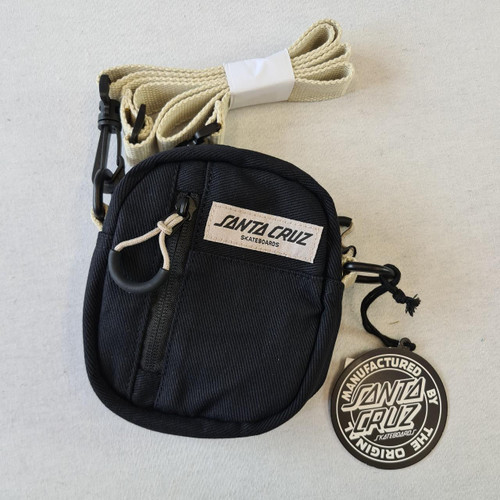 Santa Cruz Campus Shoulder Bag - Black