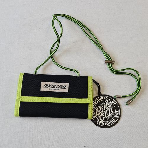 Santa Cruz Walker Wallet - Black/Green