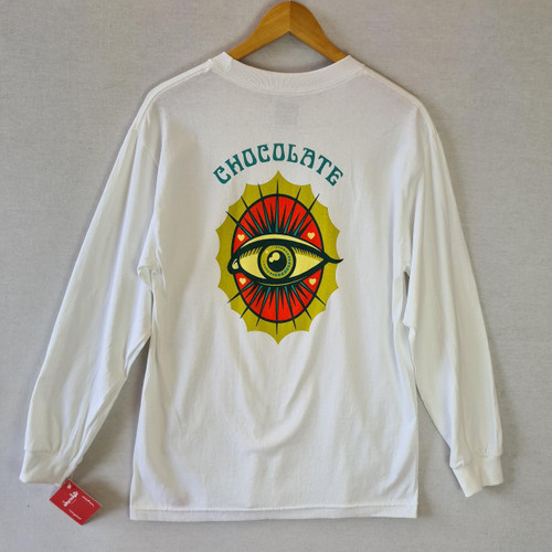 Chocolate Eye Of Love Longsleeve Tee - White