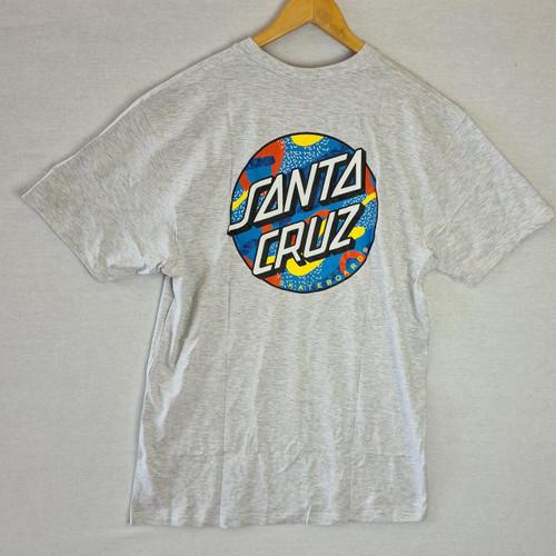Santa Cruz Skateboards Primary Dot Logo Tee - Grey