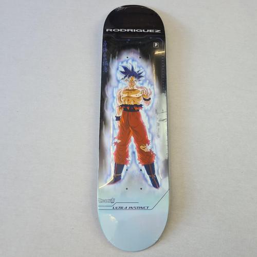 Primitive X Dragon Ball Z - Goku Ultra Instinct Skateboard Deck 8.25 Inch Wide