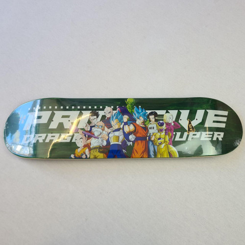 "Primitive X Dragon Ball Z Universal Survival Team 8.125"" Skateboard Deck - Green"