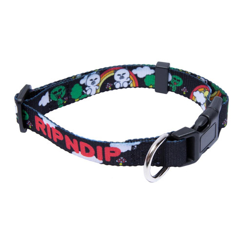 RIPNDIP Lord Buddy System Nermal Pet Collar - Black