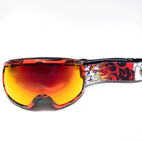 Ripndip - Dragonerm Snow Goggles - Red
