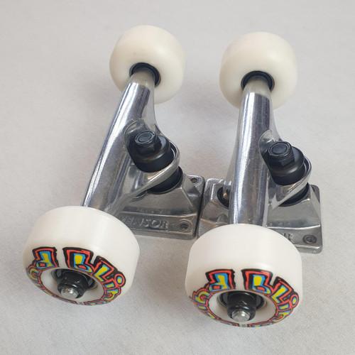Tensor / Blind Skateboard Undercarriage Set -  Trucks / Wheels / Bearings