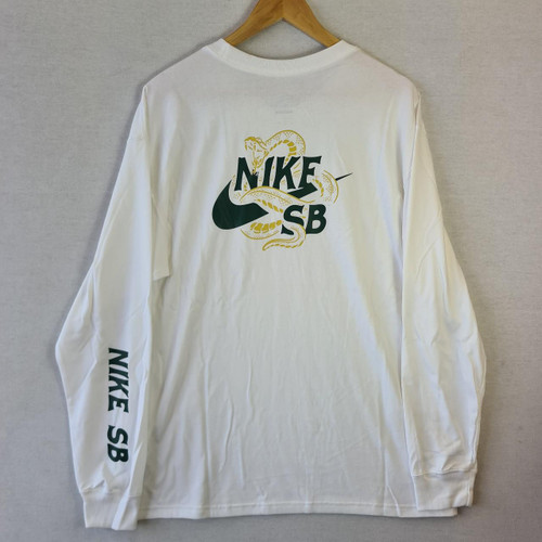 Nike SB - Snake Longsleeve Tee - White