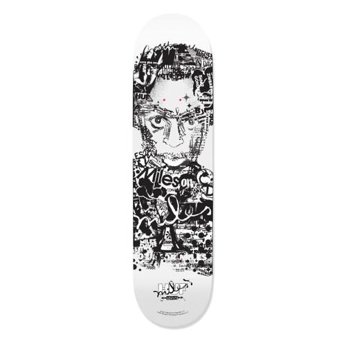 HUF x Miles Davis - Vote For Miles Skateboard Deck - 8.25