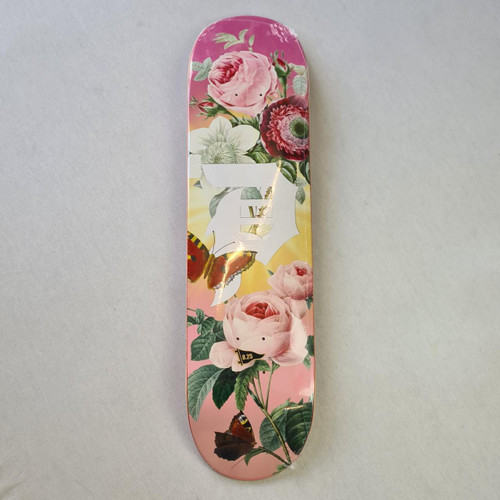 Primtive Dirty P Vase Deck - 8.25 Inch Wide - Pink