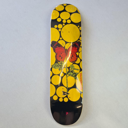 Primtive Rodriguez Cycles Deck - Red/Yellow - 8 Inch