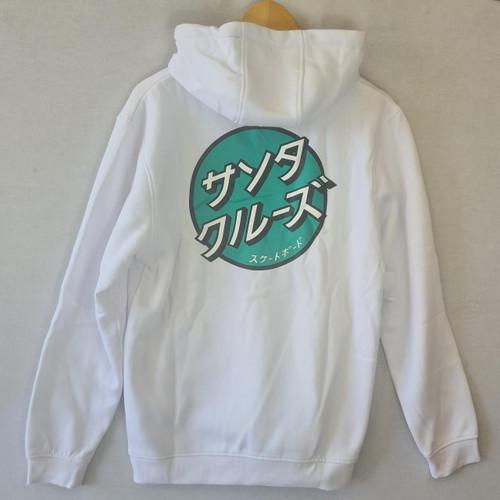 Santa Cruz Japanese Dot Hoodie - White