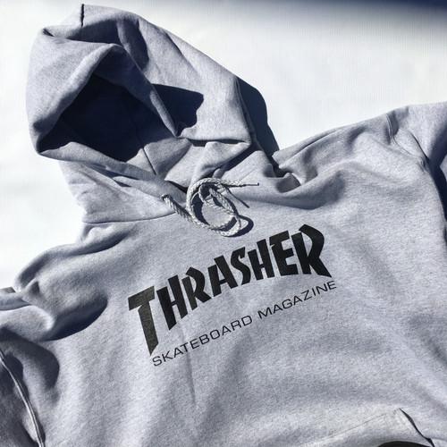 Thrasher Hoody Skate Mag - Grey