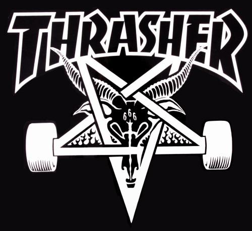 Thrasher Sk8 Goat Trade Banner