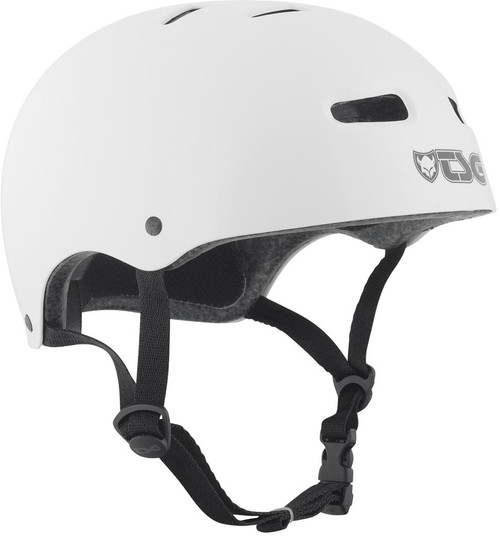 TSG Skate/BMX Injected Colour Helmet White