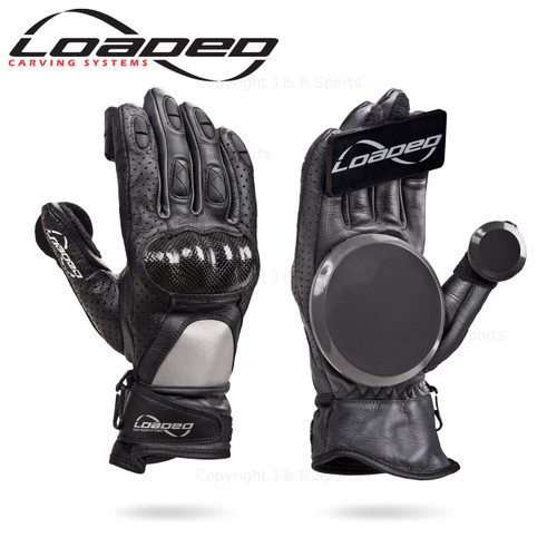 LOADED LEATHER RACE GLOVES (Pair) - L/XL