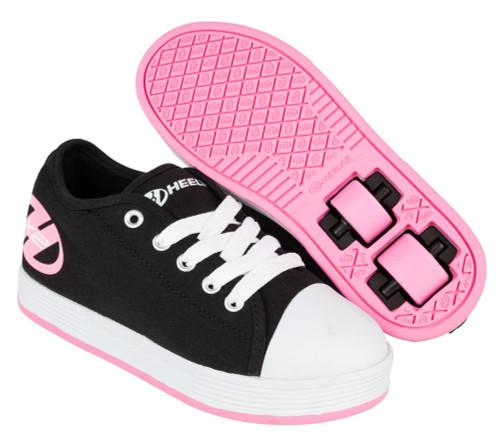 Heelys X2 - Fresh - Black/Pink