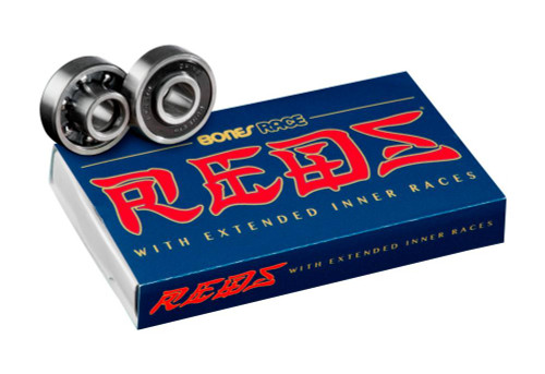 Bones Bearings - Race Reds 608