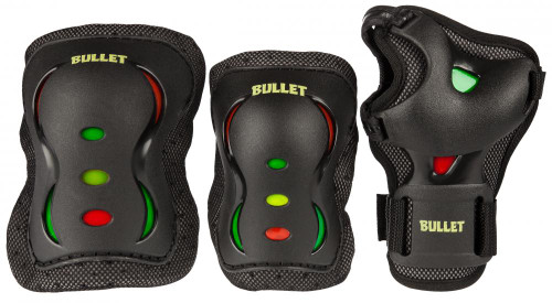 Bullet Triple Junior Padset - Rasta