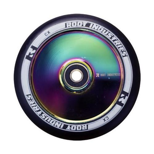 Root Industries 110mm Air Wheels - Pair - Black on Neo - Rocket Fuel
