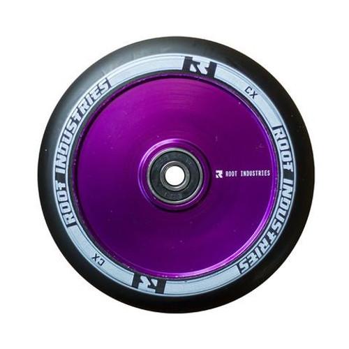 Root Industries 110mm Air Wheels - Pair - Black on Purple