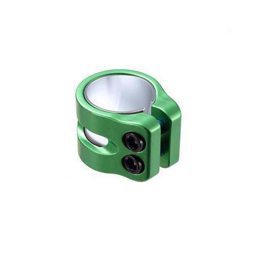 Blunt Clamp 2 Bolts Twin Slit Green