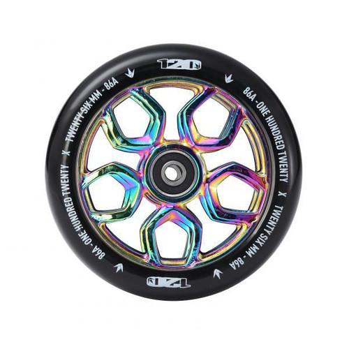 Blunt 120mm Lambo Wheel - Neo Chrome