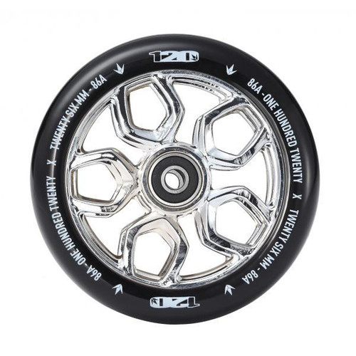 Blunt 120mm Lambo Wheel - Chrome