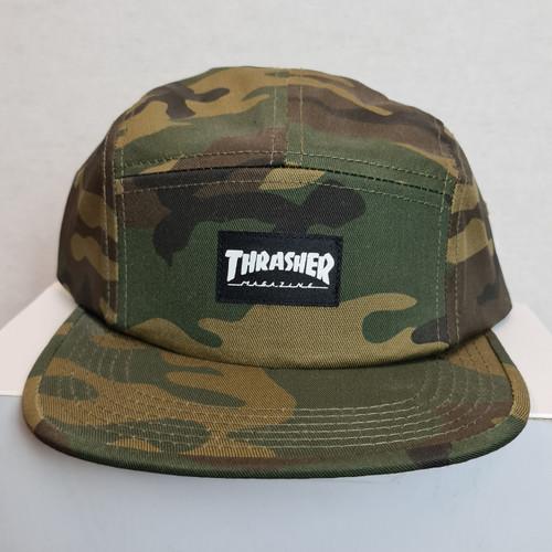 Thrasher 5 Panel Cap - Camouflage