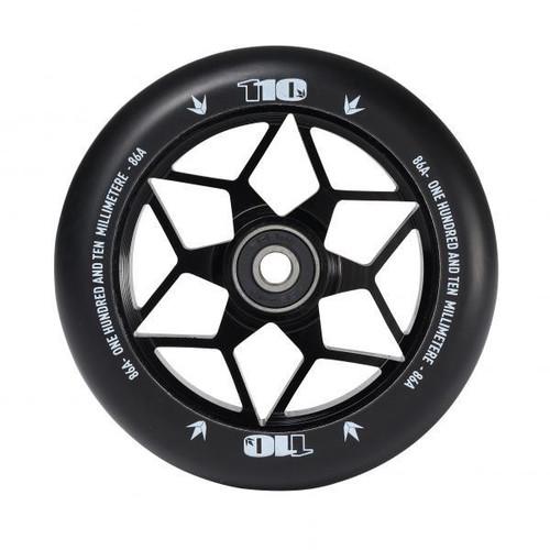 Blunt 110mm Diamond Wheels - Black