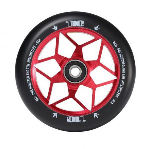 Blunt 110mm Diamond Stunt Scooter Wheel - Red