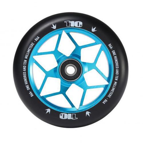 Blunt 110mm Diamond Stunt Scooter Wheel - Blue
