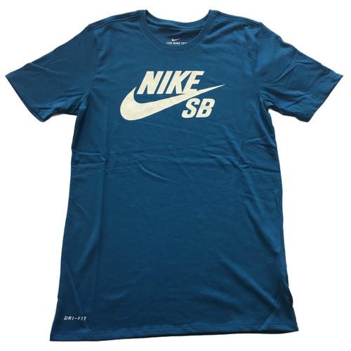 Nike SB Logo Tee - Blue