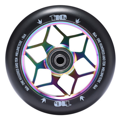 Blunt 110mm Diamond Stunt Scooter Wheel - Oil Slick