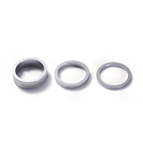 Blunt Bar Headset Spacers - Chrome