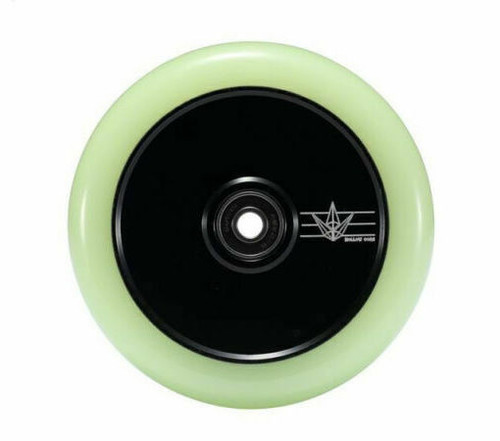 Blunt Wheel 120 MM Hollow Core  - Glow