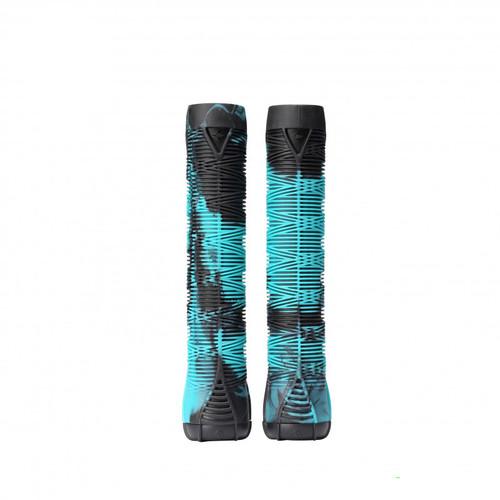 Blunt Scooter Grips V2 - Black/Teal
