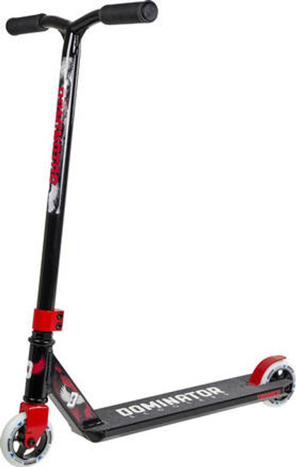 Dominator Trooper Complete Scooter - Black / Red