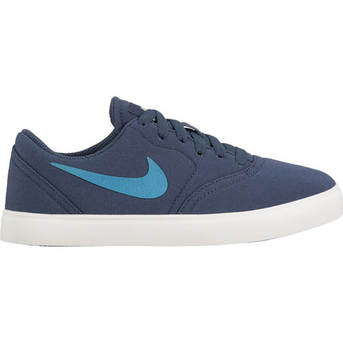 Nike SB Kids Check Skateboard Shoes - Thunder Blue